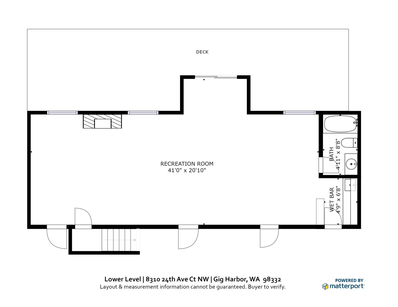 LOWER LEVEL: 8310 24th Ave Ct NW