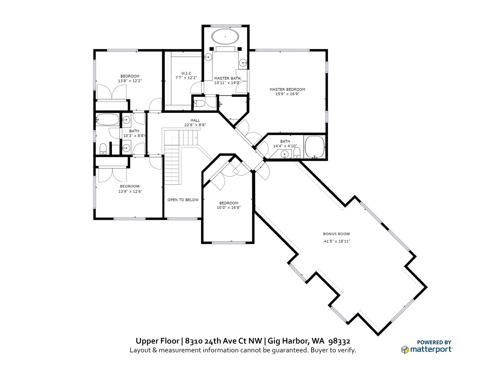 UPPER FLOOR: 8310 24th Ave Ct NW