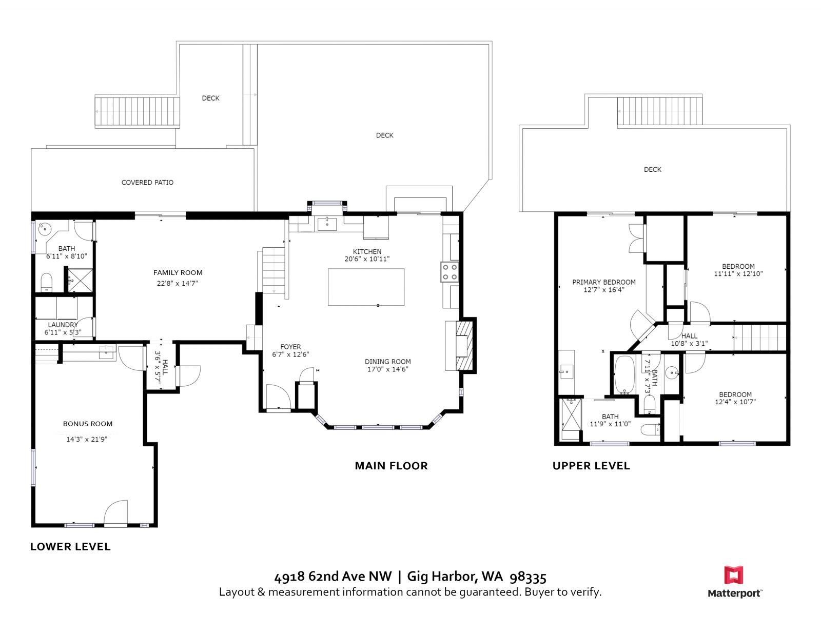 Floor Plan   4918 62nd Ave NW