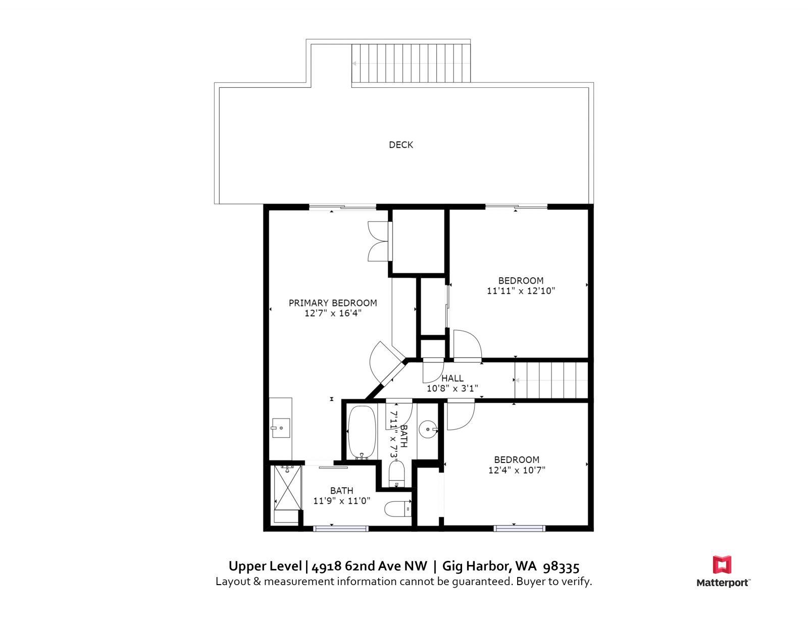 Upper Level   4918 62nd Ave NW